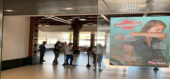 Terminal Hidroviário recebe ação de prevenção ao Coronavírus