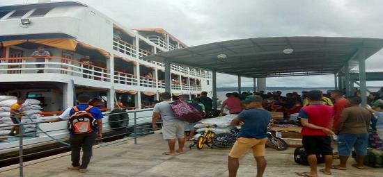 Moradores de Faro contam com conforto e segurança em viagens fluviais