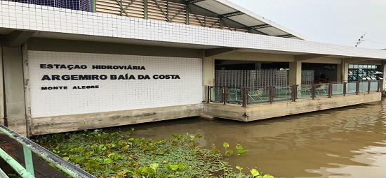 Divulgada licitação para reforma no Terminal Hidroviário de Monte Alegre