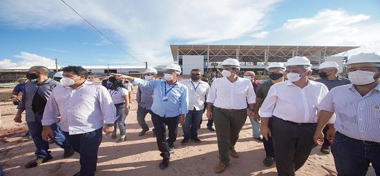 Governo conclui 70% das obras do Terminal Hidroviário de Santarém
