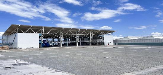 Terminal Hidroviário de Santarém está com 85% das obras concluídas