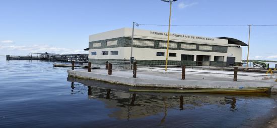 Terra Santa ganha primeiro terminal hidroviário nesta sexta-feira