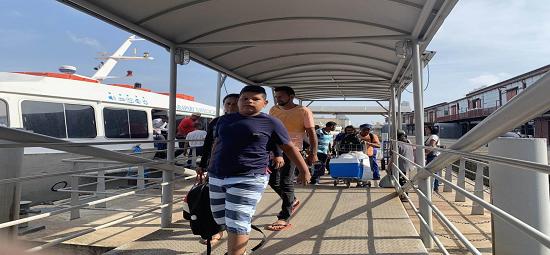 Terminal Hidroviário recebe mais de 20 mil na semana do Círio 2019