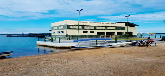 Terminal de Terra Santa completa um ano e muda realidade da cidade
