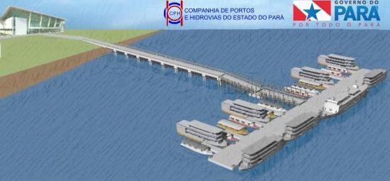 Publicado resultado da licitação para construção do terminal de Santarém