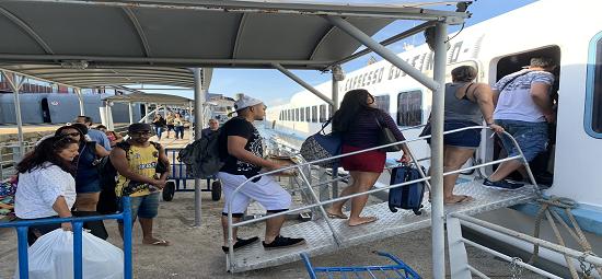 Terminal Hidroviário fecha 2019 com aumento de 15% de usuários