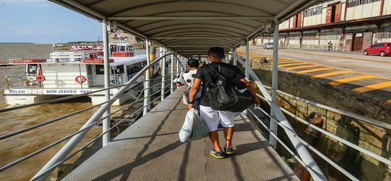 Terminal Hidroviário reforça medidas de segurança contra a Covid-19