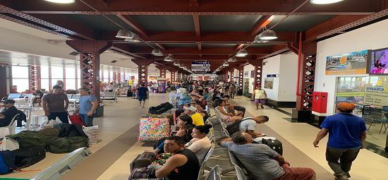 CPH orienta usuários do Terminal Hidroviário de Belém