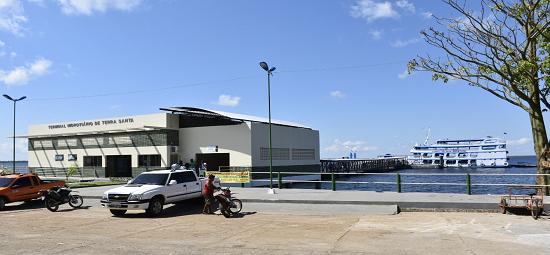 Terminal Hidroviário de Terra Santa muda a vida da população